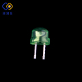 FREE samples through hole package diffused green straw hat led 5mm
