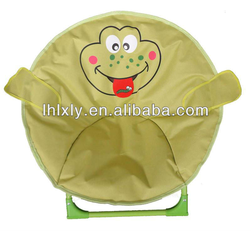 childrens kids frog chair moon chair