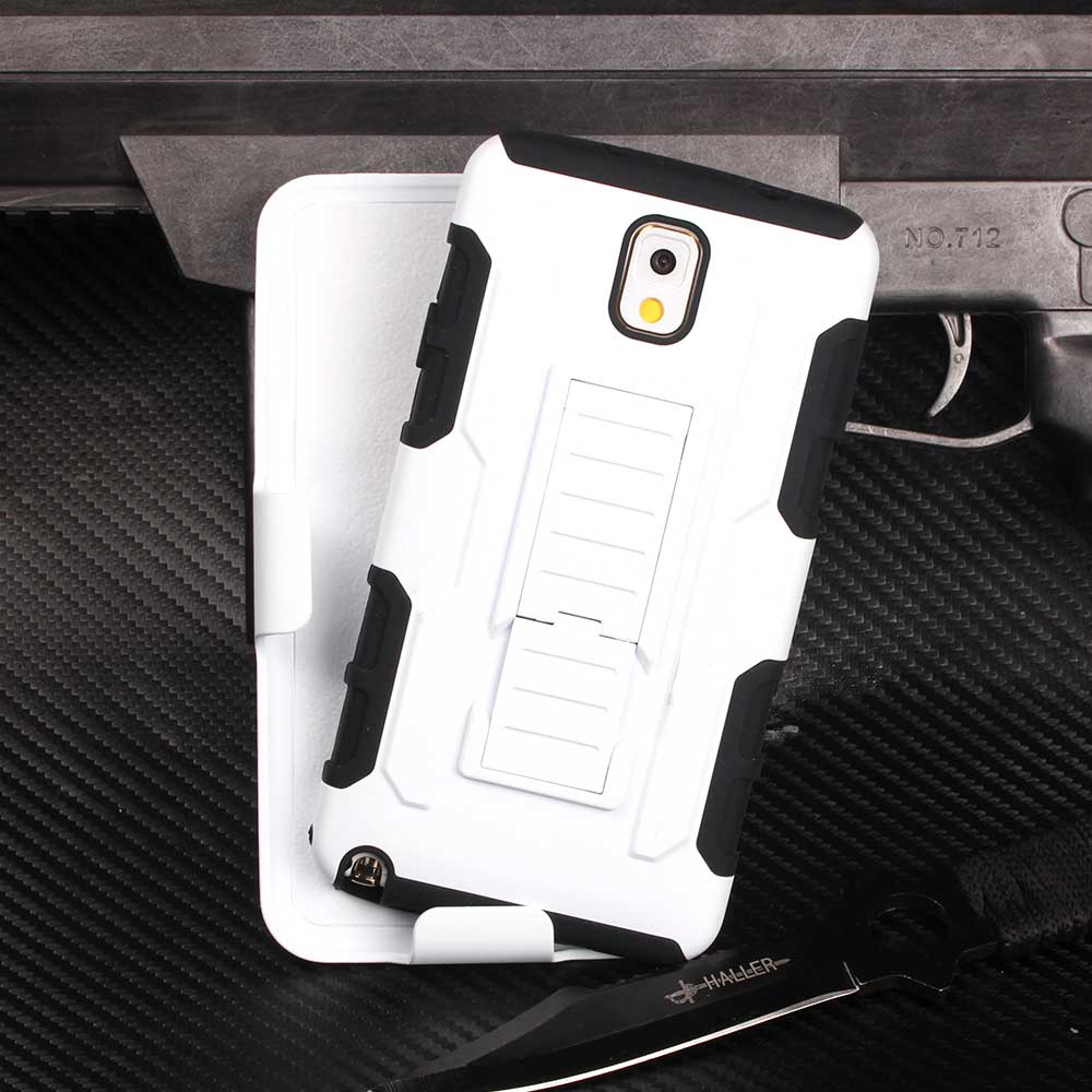 Note 3 Cool Heavy Duty Future Armor Case For Samsung Galaxy Note 3 Stand Case Impact Belt Clip TPU+PC Hybird Cover