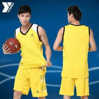 Popular basketball jersey design 2014 sample basketball wear sets YN-604 sjersey basketball design