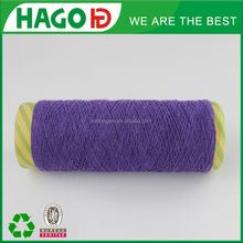 2014 new arrival 20s/1 oe cotton poly mixed India market factory price recycled yarn for socks production