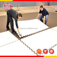 hot sale hdpe synthetic ice panels/hockey plastic sheet