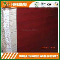 plastic coated plywood/3.6mm colored polyester plywood