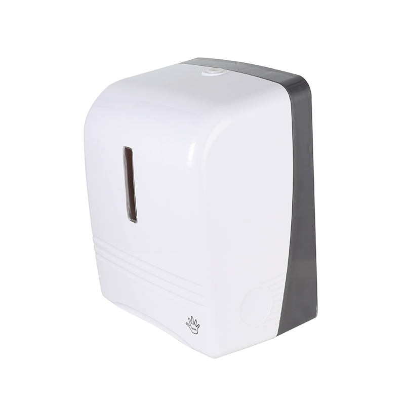 Automatic Sensor Roll Paper Towel Dispenser Wall Mount Paper Holder Auto Cut Jumbo Roll Tissue Dispenser