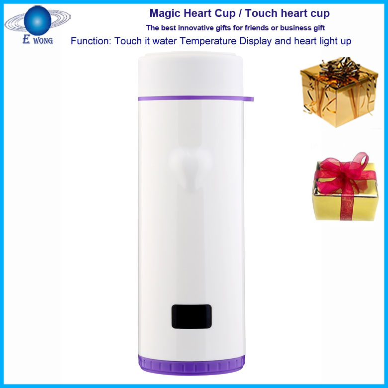 LED luxury cup gifts / hot selling unique useful wedding anniversary gifts