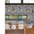 Modern Design Chinese Retro 3d Effect Grey Brick Vintage Stacked Stone Wallpaper