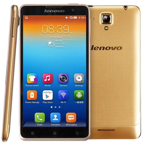 Original Lenovo S898T+ 8GB 5.3 inch Android 4.2.2 IPS Screen Smart Phone, MT6589T 4 Core 1.5GHz, RAM: 1GB, GSM Network, Dual SIM