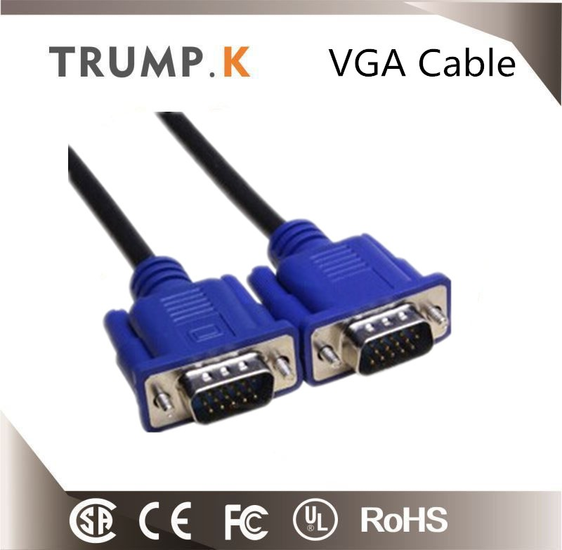 10FT VGA Male to Male Premium Monitor LCD VGA Cable