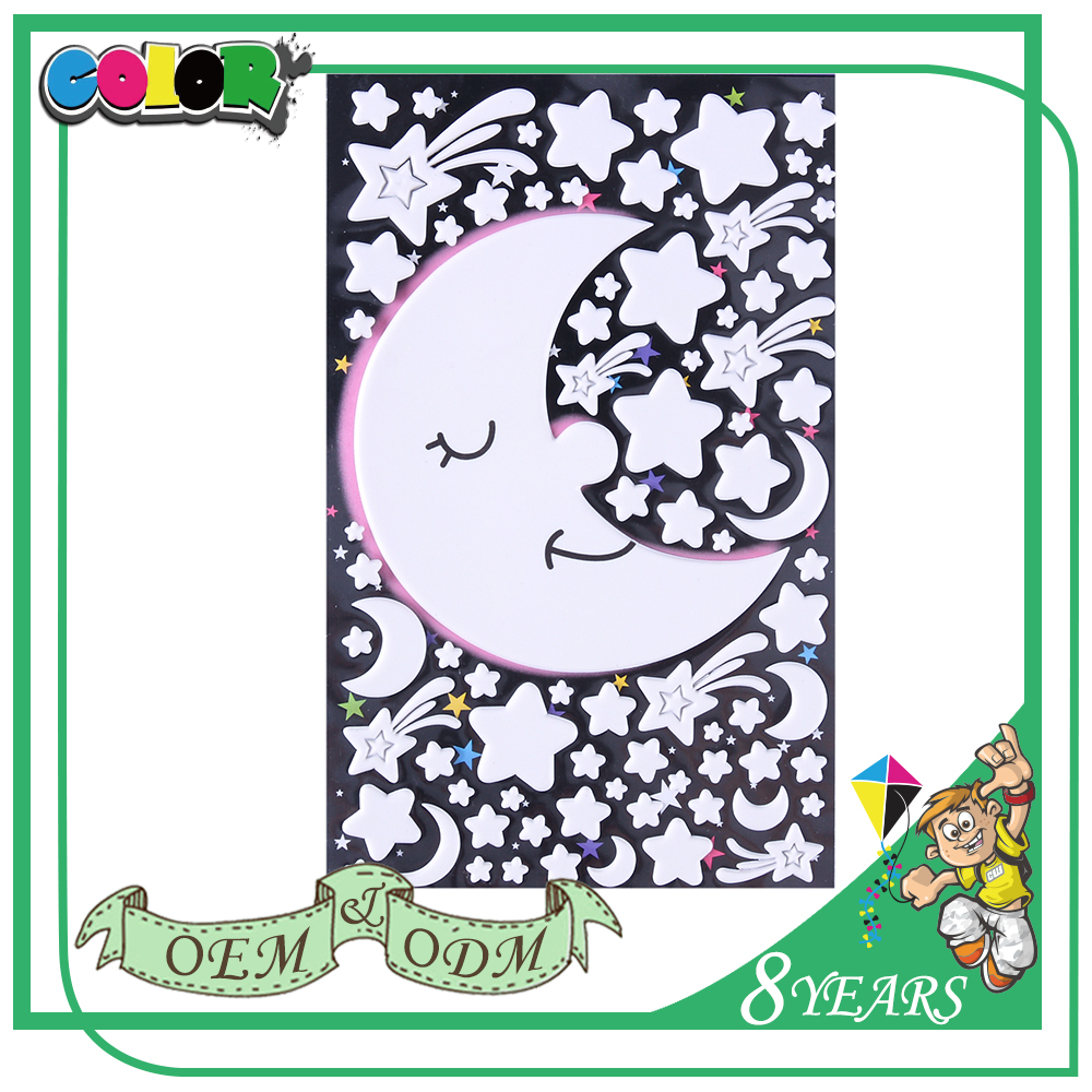 Best Selling New Design Good Adhesive Beautiful Good Material For Iphone Glow In The Dark Sticker