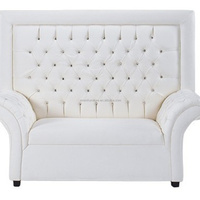 Eventfur White Wedding Modern Sectional Sofa