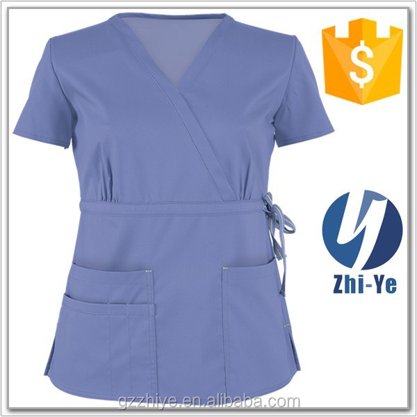 uniforms manufacturer drawstring medical scrubs for nurse