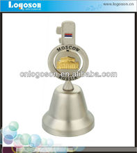 New Decorative Souvenir Small Metal Craft Spinning Embossment Dinner Bell