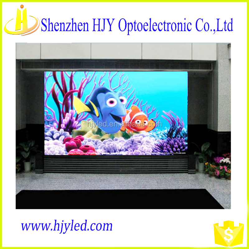 P16 rgb led billboard price free blue movie video