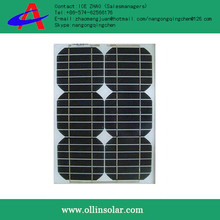 High efficiency solar panel mono 10 watt