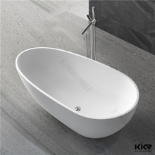 "portable shower tub , freestanding bathtub stone 52"" , european style bathtub"