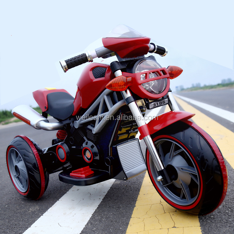 2016 Best selling battery powered children toys electric 3 wheel motorbike for kids