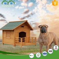 Dog House With Porch Wooden Dog Kennels For Sale