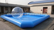 Durable outdoor inflatable adult bath for water balls or boats