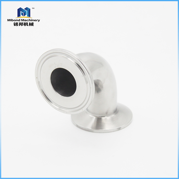3A Polished Food Grade Sanitary SUS304/316L Stainless Steel 90 Degree Weld Elbow