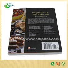 Customized Hot Glue Landscape Booklet Printing Magazine Printing with Varnishing