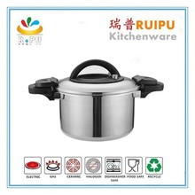 2015 New arrivel products stainless steel kitchen sauce pans cookware induction cooker rice pressure cooker as seen on tv