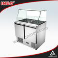 Commercial Compact Style Table Refrigerator For Salad In Buffet And Restaurant