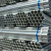 Customize ASTM/JIS/EN/DIN/BS/API standard galvanized ERW composite steel pipe/steel tube