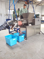 Industrial using meat mincer machine chicken deboning machine mechanically separating