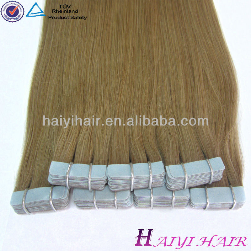 Large Stock Top Quality Virgin Hair tape weaving accept american express