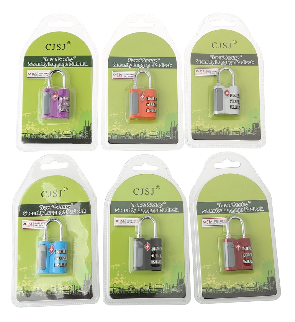 TSA-530 tsa lock wholesalers airport lock/tsa approved padlocks