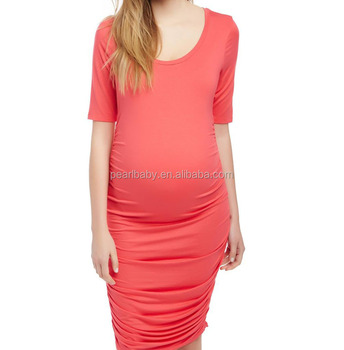 fashion wholesale pregnancy dress maternity dress