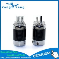YangYang brand new hifi power cable connector power plug converter