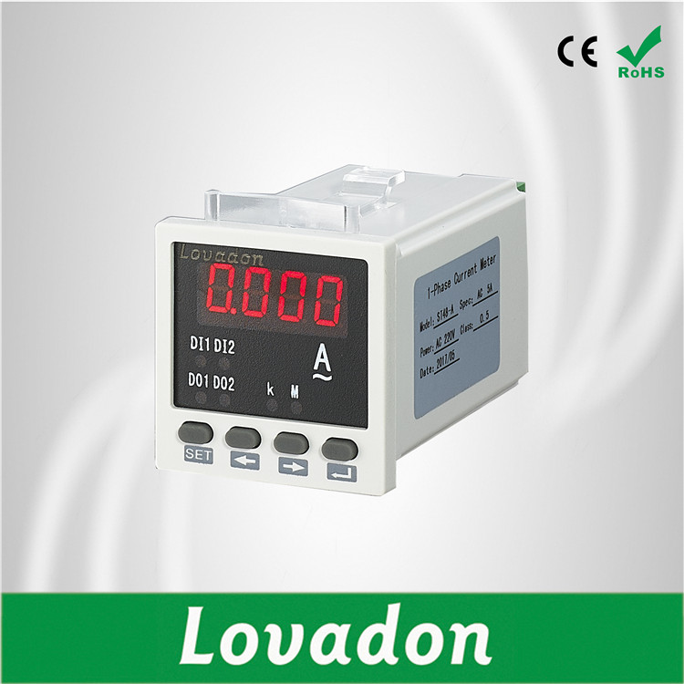 48*48mm Single Phase Amp Digital Smart Energy Current Meter