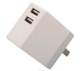 2015 high quality private design 2.1a eu us plug wall charger, single port portable mobile phone usb travel charger