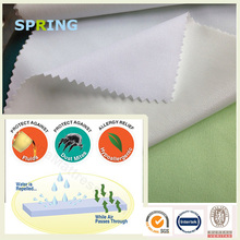 100 polyester mattress covers bed bug waterproof breathable fabric