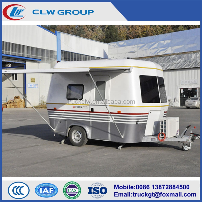 Factory supply cheap price folding caravan trailer for sale