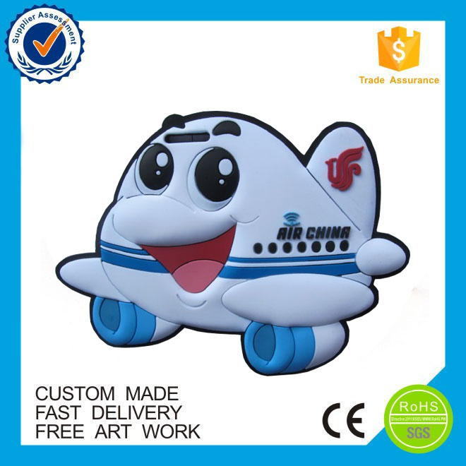 customized soft pvc Self adhesive airline luggage tags