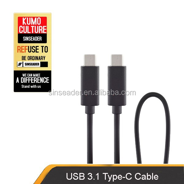 New product USB 3.1 cable,USB TYPE C TO C ,C type connector