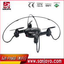 2016 Newest SJY-FY603 WIFI FPV Drone Camera RC Drone Quadcopter Airplane Aircraft Models Built-in Gyro Metal Helicopter RC