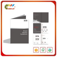 New style factory supplier Saddle stitching soft cover color printing booklet machine