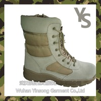 [Wuhan YinSong] Army winter boots /Military safety boots