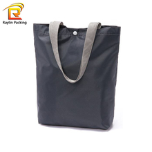 Wholesale cheap custom reusable foldable oxford cloth women fashion tote gift shopping bag