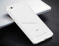 high quality Ultra thin Aluminum Metal Frame + PC Back Cover Case For xiaomi hongmi redmi 3