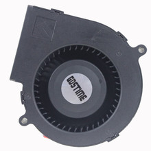 Gdstime 5v 7.5cm 75mm x 75mm x 30mm 3 Inch 7530 DC Centrifugal Blower Fan