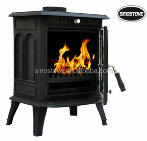 cast iron wood stove/ multi fuel stove/ heating fireplace