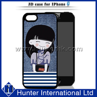 Japanese Style Cartoon Girl 3D Case For iPhone 5