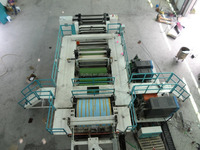 Brazil hot sale PE,PP,PLA,CPP,CPE,TPU casting film extrusion machine line