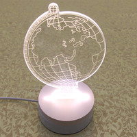 For Indian Agents LED Christmas Gifts 3D Prints Led Light Nightlight Wholesale 5 Cartons