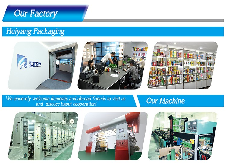 Custom printing Food Packaging Plastic Roll Film Laminating