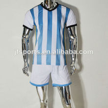Thai Quality Wholesale Soccer Jersey For Kid 2014 World Cup National Team Youth Football Jerseys Custom Soccer Uniform